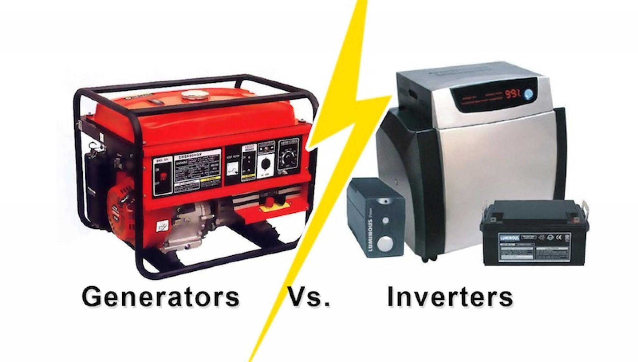 Inverter vs Generator? [Differences & Usage]